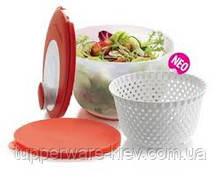 """""""Карусель"""" 3.9л для сушки и мытья овощей, ягод,зелени, фруктов с дополнительной крышкой скидка"""