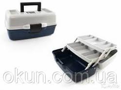 Ящик рыболовный пластиковый двухполочный AQUATECH 1702