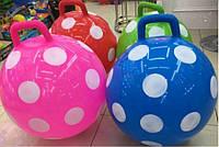"""М'яч для фітнеса 55см   SB1613 """"Горох"""" гиря 4 кольора"""