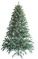 Искусственная новогодняя Ёлка 150см ( ель ) 1.5м литая Президентская зеленая