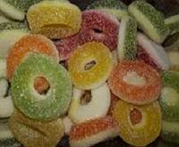 Кислые фруктовые кольца ассорти 6х1кг
