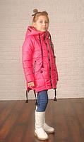 Весенняя куртка-трансформер для девочки Леди