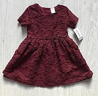 Детское нарядное платье для девочки Carters на 12 мес