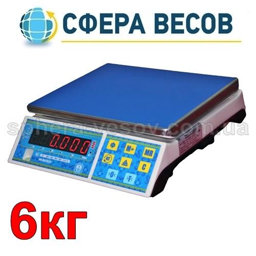 Весы фасовочные Вагар VW-MN (6 кг) - Сфера Весов - точность в деталях! в Харькове