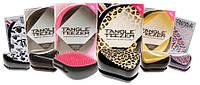 Tangle Teezer Compact Styler, Расческа Тангл Тизер компакт, Щетка для волос, Расческа Тангл Тизер с крышечкой