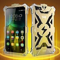 Чехол накладка бампер Simon Thor для Huawei Honor 4C золотистый