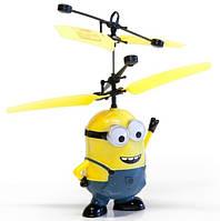 Интерактивная игрушка Летающий Миньон с пультом Мальчик и Девочка Гадкий Я Посіпаки миньен