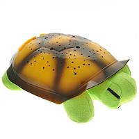 Музыкальная ночник черепаха проектор Green