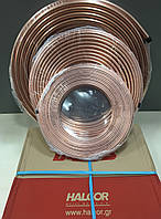 Труба медная  1/4 для кондиционеров (6,35х0,76) - 45 м. Halcor (Греция)