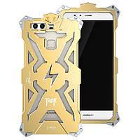 Чехол накладка бампер Simon Thor для Huawei P9 Plus золотистый