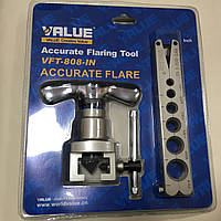 Набор для оброботки труб VALUE VFT808-I N  ( вальцовка, блистер)