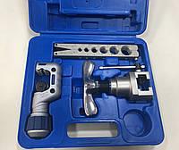 Набор для оброботки труб VALUE VFT808-IS  (одна планка, один труборез) чемодан