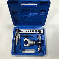 Набор для оброботки труб VALUE VFT808-IЕ  (одна планка, вальцовка, труборозширитель) чемодан