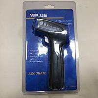 Термометр пирометр инфракрасный+лазер VALUE VIT 300 (-18 C -280C)
