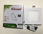 Светодиодная панель квадрат - 6 Вт внутрен. установки Lezard