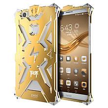 Чехол накладка бампер Simon Thor для Huawei Honor Note 8 золотистый