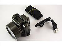 Фонарик на голову yajia yj-1829-5 аккумуляторный светодиодный налобный 5 LED