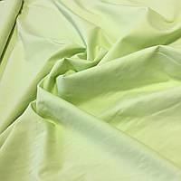 Бязь однотонная светло-салатовая, бледный оливковый ширина 220 см, фото 1