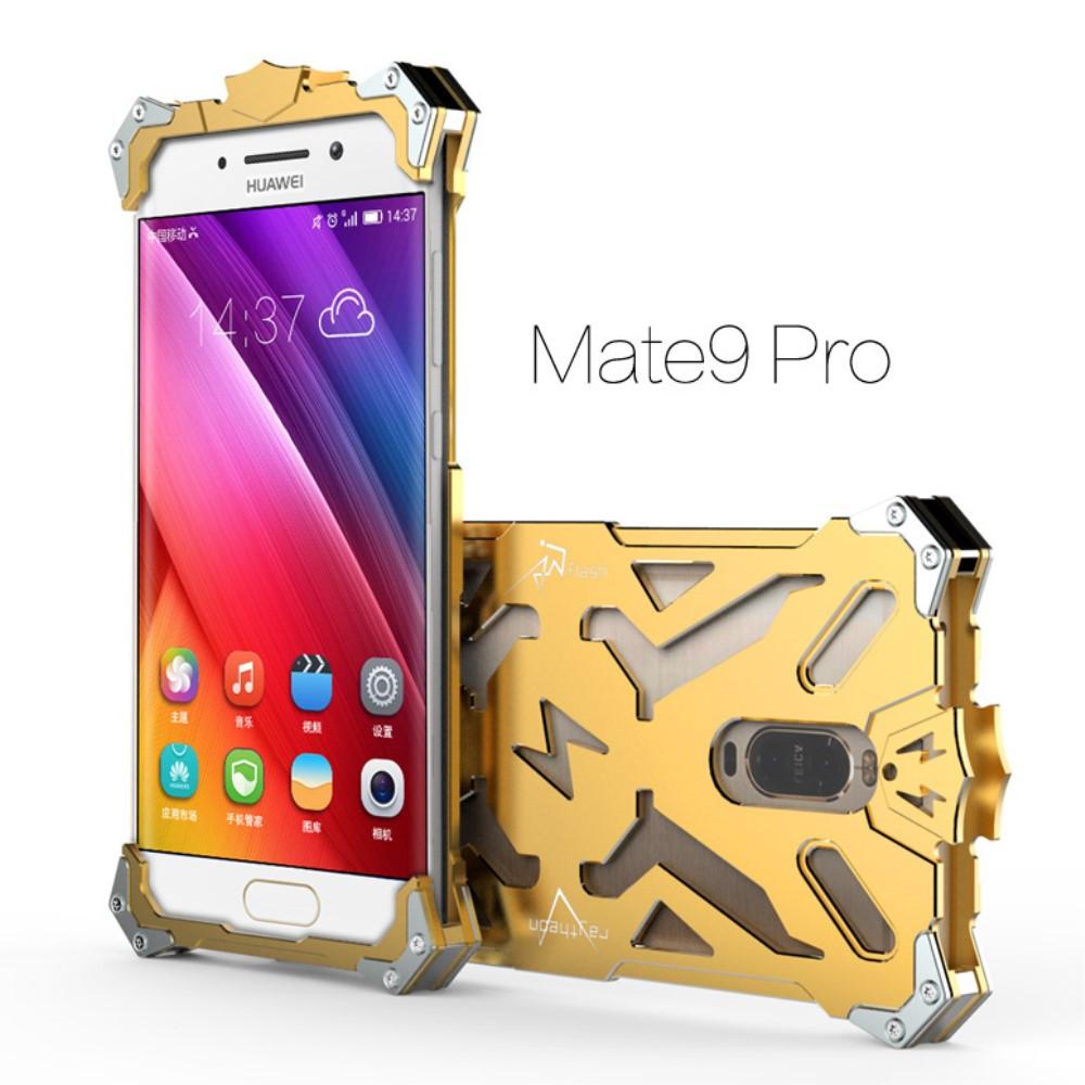 Чехол накладка бампер Simon Thor для Huawei Mate 9 Pro золотистый