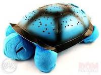 Музыкальная черепаха ночник проектор Blue