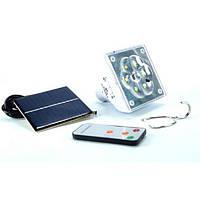 Лампа светодиодная Kingblaze GD-5017 6LED с пультом и с солнечной батареей