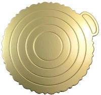 Подложка для торта Empire 0289 золотистая 240 мм