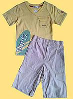 """Комплект одежды для мальчика """"Серфинг"""", футболка и бриджи"""