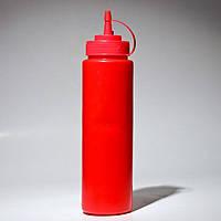 Красный диспенсер Empire 7080 бутылочка для соусов и сиропов