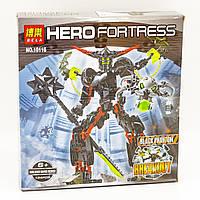 Конструктор Bela аналог LEGO 6203 Hero Factory(Фабрика героев) Чёрный фантом