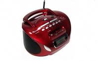 Бумбокс колонка MP3 USB радио Golon RX 186 Red