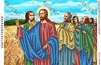 """Картина бисером """"Беседа Исуса с апостолами"""""""