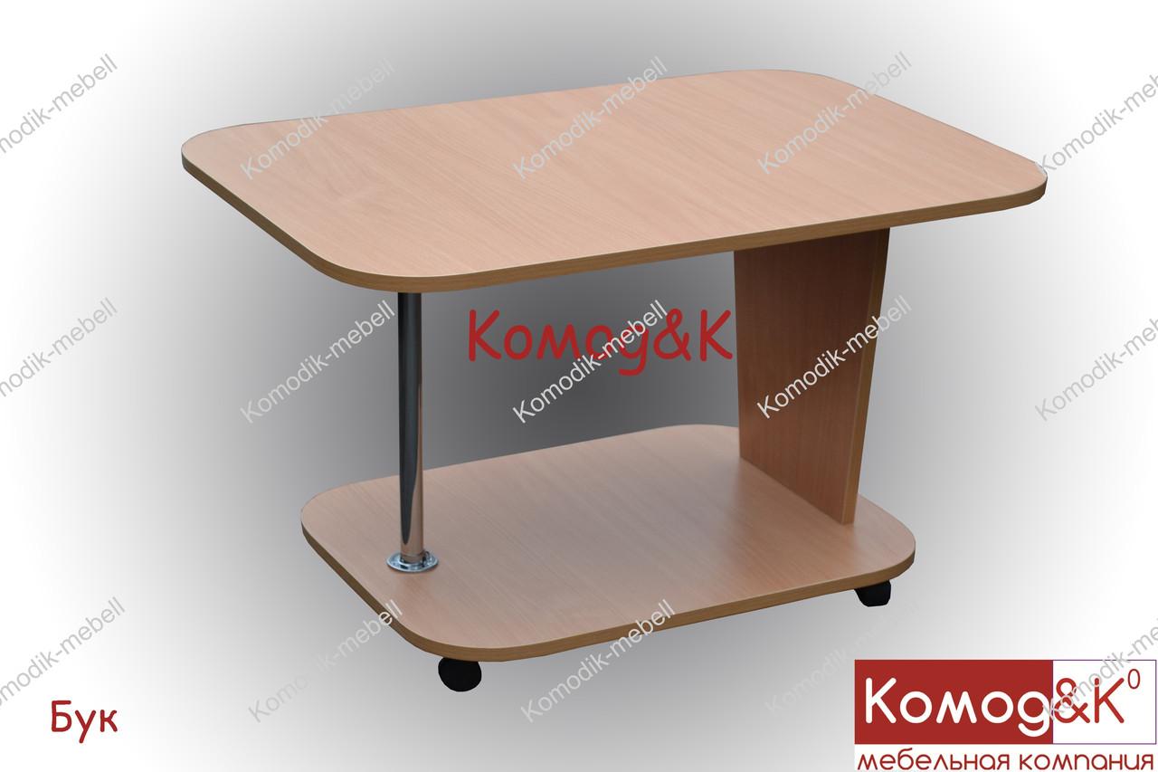 Журнальный стол Овал цвет Бук