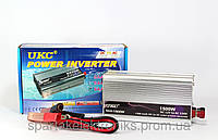 Автомобильный преобразователь напряжения 12V-230V 1500W UKC AC/DC SAA авто инвертор в коробке