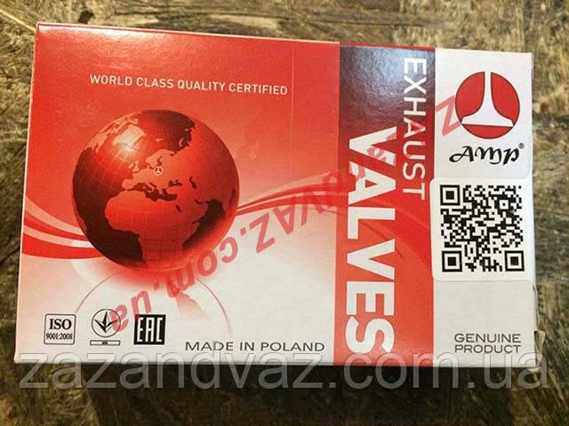 Клапана выпускные AMP Польша ВАЗ 2101-2107 комплект PLAD002