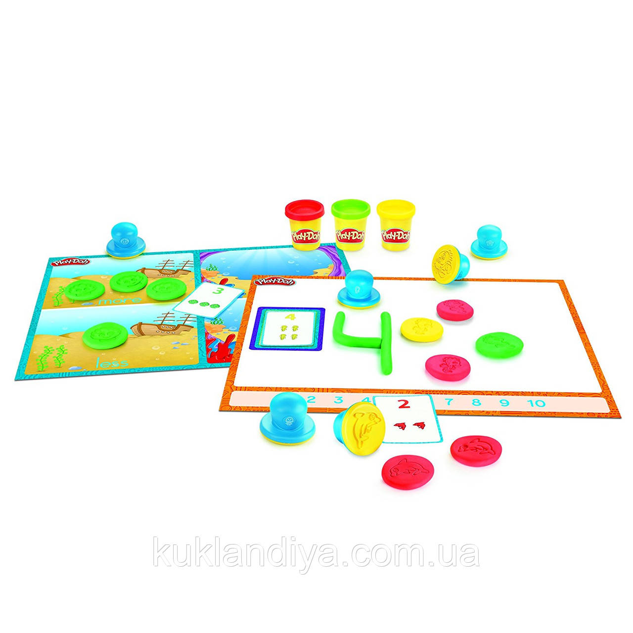 Набор Play-Doh изучаем цифры и счет
