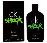 Calvin Klein CK One Shock for Him туалетная вода 100 ml. (Кельвин Кляйн Си Кей Ван Шок Фор Хим), фото 1