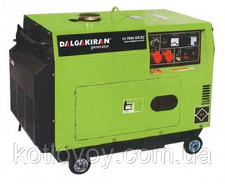 Дизельные миниэлектростанции Dalgakiran (Далгакиран) серии DJ-DG