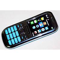 Мобильный телефон Nokia Asha 101 dual 2 SIM карты копия металлический корпус
