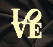 Объемная надпись Love 5
