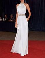 CB-525 Стильное Вечернее Платье в Пол Свадебное Выпускное