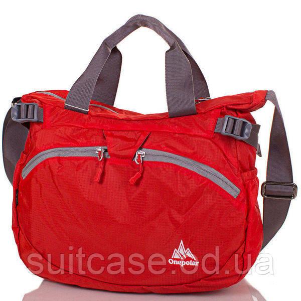 0607118341a6 Женская спортивная сумка через плечо ONEPOLAR (ВАНПОЛАР) W5220-orange  ,ОДЕССА - Интернет