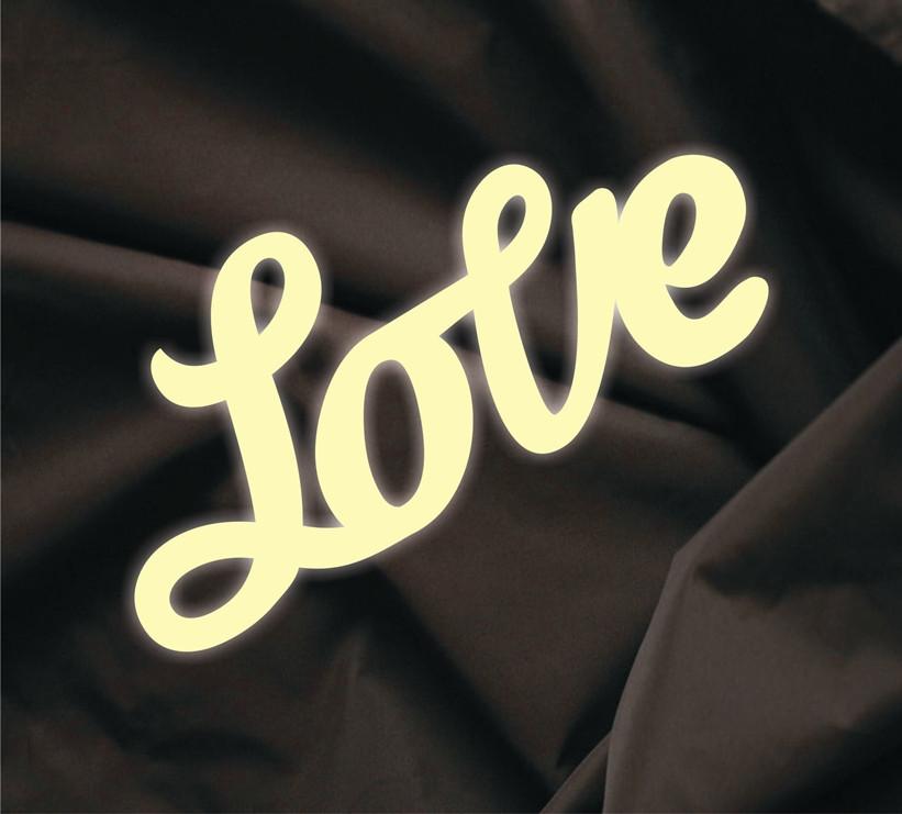 Об'ємна напис Love 7