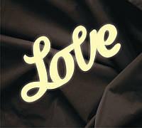 Объемная надпись Love 7