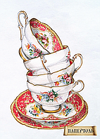 Набор для создания объемной картины из бумаги Чашки