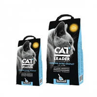 Ультра-комкующийся наполнитель в кошачий туалет Кэт Лидер (CAT LEADER) с WILD NATURE, 10кг