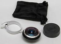 Линза для фото 235 LENS FISH EYE, универсальным объектив для iPhone, увеличивающая линза рыбий глаз