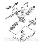 01-04 Пыльник рулевой тяги Ford Granada/Scorpio DE, CE; P100 DP; Sierra DD, CD, фото 3
