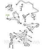 01-09 Сайлентблок заднего рычага Ford Granada/Scorpio DE, CE; Sierra DD, CD; 83BB5K653AC; 6122049, фото 3