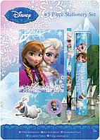 Frozen Disney Дисней Замороженный набор канцелярских принадлежностей 5 частей