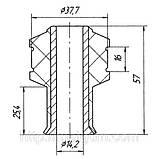 03-28 Втулка заднего аммортизатора верхняя Ford Transit FY, GY (Turkey); YC1518A034AA; 4056004, фото 2
